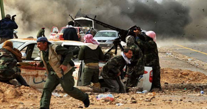 طرابلس پر قبضے کیلیے باغیوں اور سیکیورٹی فورسز میں تصادم، ہلاکتیں 121 ہوگئیں