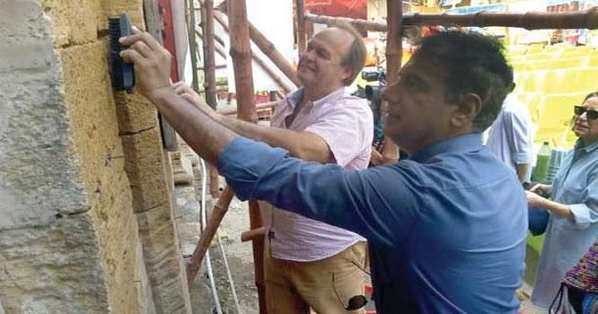 شہر قائد میں تاریخی عمارتوں کی بحالی کا کام شروع
