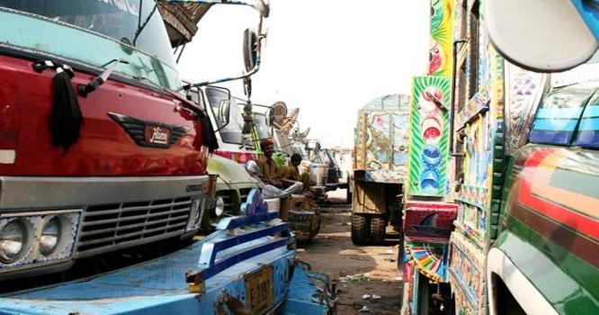 گڈز ٹرانسپورٹ ایسوسی ایشن نے بھی ہری جھنڈی دکھا دی