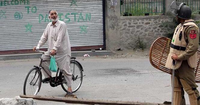 بھارت میں عام انتخابات کا دوسرا مرحلہ، مقبوضہ کشمیر میں کرفیو کا سماں