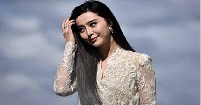 چین کی اداکارہ فن بنگ ایک سال بعد منظر عام پر آ گئیں
