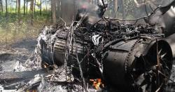 مسافر طیارہ گرکر تباہ ، 130مسافر سوار تھے