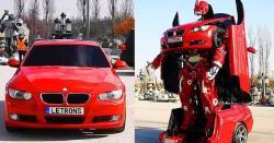 چین میں ٹرانسفارمر کار تیار، ایک بٹن دبا کر روبوٹ میں تبدیل