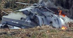 فوجی ہیلی کاپٹرگرکرتباہ ،2 میجرز، 3 کیپٹن، 2 لیفٹیننٹ کرنل جاں بحق