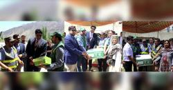 ہنزہ،پاکستان بیت المال کے زیراہتمام 500خاندانوں میں رمضان پیکیج تقسیم