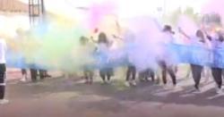 چین میں رنگوں کی سالانہ ریس