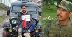 بے گناہ کشمیری کو جیپ کے آگے باندھ کر گھمانے والے  بھارتی فوج کے میجر کو سزا مل گئی