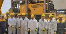 سمندر میں تیل اور گیس کی تلاش، وفاقی وزراء ڈرلنگ دیکھنے پہنچ گئے