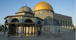اسرائیلی فوجی عین تراویح کے وقت مسجد اقصیٰ میں گھس آئے