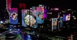 چین میں فوڈ فیسٹیول سے قبل شاندار لائٹ شو کا انعقاد
