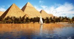 دنیا کے سب سے بڑے دریا ''نیل'' کے نیچے زیر زمین کونسا دریا بہتا ہے جو اس سے چھ گنا بڑا ہے