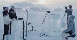 ناروےمیں فنکاروں کا ٹھنڈا ٹھا ر میوزک کنسرٹ
