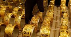 سونا بھی مہنگا، فی تولہ 71 ہزار 700 روپے نیا ریٹ مقرر