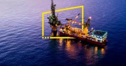 سمندری حدود میں تیل کی تلاش ، ڈرلنگ کے مقام کو ہنگامی طور پر سیل کر دیا گیا ، ہر قسم کی سمندر آمد و رفت پر پابندی عائد