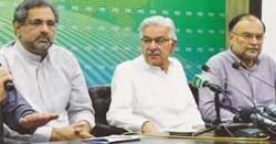 ججز کے خلاف حکومتی ریفرنسز ،ن لیگ کاحکومت کے خلاف احتجاج کافیصلہ