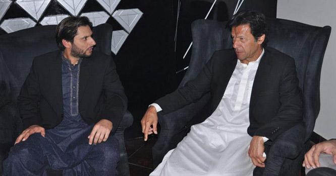 شاہد آفریدی نے عمران خان سے اپنے اختلافات کھل کر بتادئیے