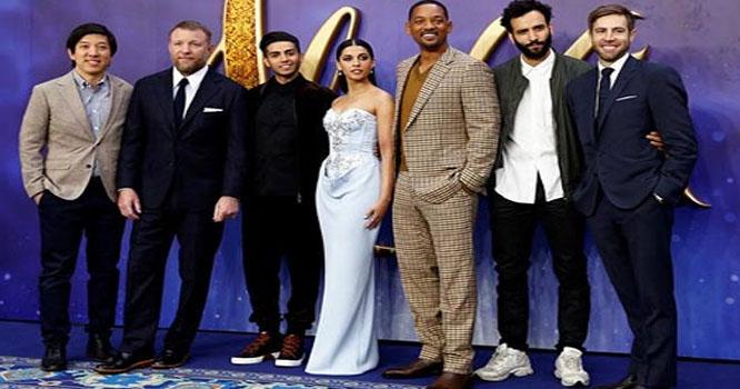 """لندن میں ہالی وڈ فلم """"الہ دین """" کا رنگا رنگ پریمئیر"""