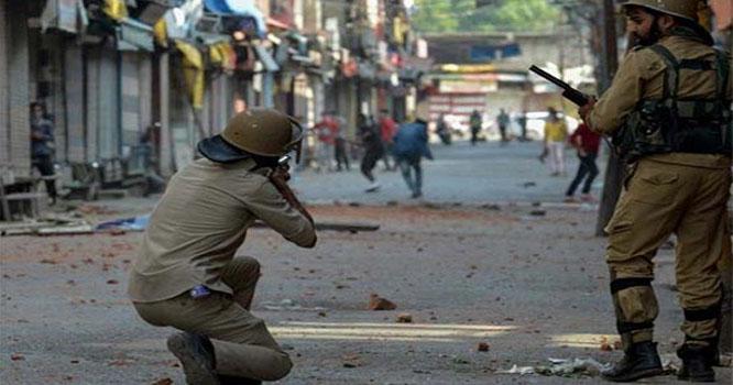 مقبوضہ کشمیر: بھارتی فوج کی فائرنگ سے ایک اور نوجوان شہید، عوام کا احتجاج