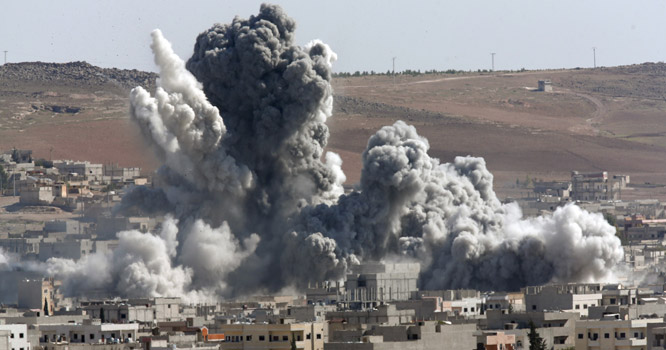 اسلامی ملک پر بمباری، 12 شہری شہید