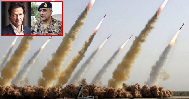 ''پاک فوج نے دنیا کا انتہائی خطرناک میزائل چلا دیا ''