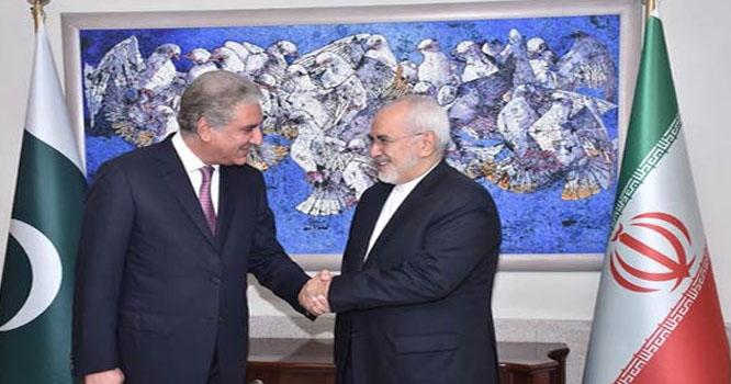 ایرانی وزیر خارجہ کی شاہ محمود سے ملاقات، وفود کی سطح پر مذاکرات جاری