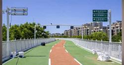 چین کا ایک اور انقلابی قدم، سائیکل سواروں کیلئے ہائی وے تعمیر کر دی