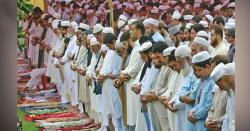 پختونخوا میں صرف 28 روزوں کے بعد عید، جگہ جگہ نماز کے اجتماعات