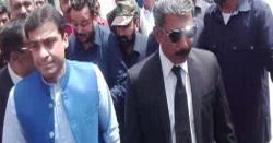 نیب نے اپوزیشن لیڈر پنجاب اسمبلی حمزہ شہباز کو حراست میں لے لیا