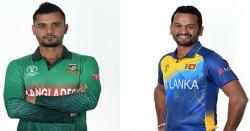 ورلڈ کپ، بنگلادیش اور سری لنکا کے درمیان آج جوڑ پڑے گا