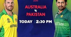 کرکٹ ورلڈکپ؛ پاکستان اور آسٹریلیا کے درمیان میچ آج کھیلا جائے گا