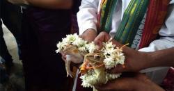 بھارت میں مینڈک کی شاد ی کردی گئی