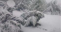 چترال میں جون کے مہینے میں موسم گرما میں تیس سال بعد برفباری