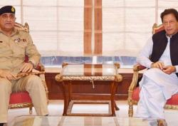 وزیراعظم عمران خان نے آرمی چیف قمر جا وید با جوہ کی مد ت ملا زمت میں تو سیع کر نے کا فیصلہ کر لیا