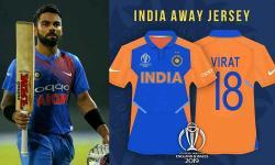 بھارت بمقابلہ انگلینڈ میچ کے دوران بھارت نیلےرنگ کے بجائےنارنجی رنگ کی جرسیاں استعمال کریں گے