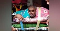 330 کلو وزنی نور حسن شالیمار ہسپتال میں زیر علاج