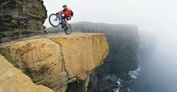 منچلے کی بلند و بالا پہاڑ پر سائیکلنگ