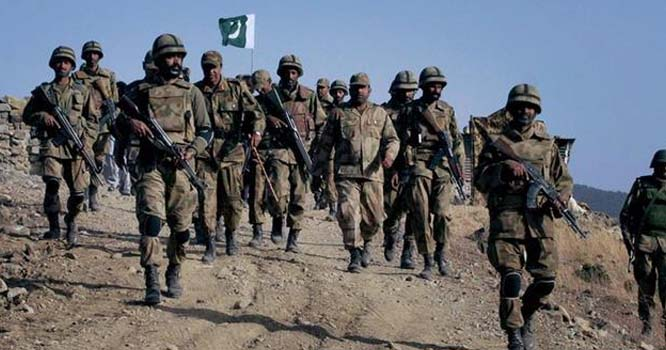 پاک فوج کے افسران اور جوانوں نے بھارت کے خلاف مختلف ادوار اور مختلف محاذوں پر چھڑنے والی جنگوں میں شجاعت