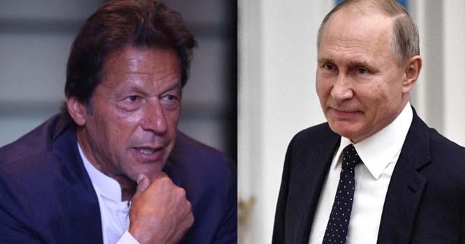 وزیر اعظم عمران خان اور روسی صدر ولادی میر پیوٹن کے مابین غیر رسمی ملاقات