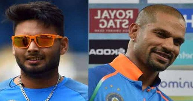 شیکر دھون ورلڈ کپ سے آؤٹ، رشب پانٹھ بطور متبادل ٹیم میں شامل