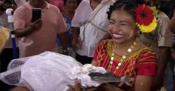میکسیکو میں اچھی فصل کیلئے مئیر نے مگرمچھ سے شادی رچا لی