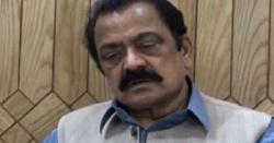 1200افراد گرفتار هہوئے، شور صرف رانا ثنااللہ کا مچا ہوا ہے