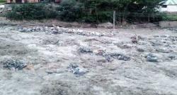 چترال میں گلیشیئر پھٹ گیا،سیلاب نے تباہی مچادی، وسیع علاقہ زیر آب