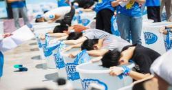 چینی کھلاڑی نے 4 منٹ 13 سیکنڈز تک پانی میں سانس روک کر مقابلہ جیت لیا