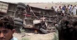 سانگھڑ: کھڈرو کے قریب بس اور رکشہ میں ٹکر،8 افراد جاں بحق، 24 زخمی