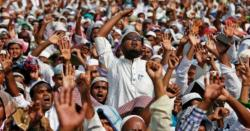 ''ہندوانہ نعرہ لگاؤ اورنعوذباللہ سنت رسولﷺ صاف کرو''