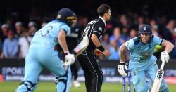 سائمن ٹفل نے ورلڈ کپ میں انگلینڈ کے اوور تھرو کے رنز پر اعتراض اٹھا دہا