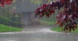 آئندہ چندروز کے دوران ملک کے بالائی اور وسطی علاقوں میں تیزہواؤں اور آندھی کے ساتھ بارش کا امکان
