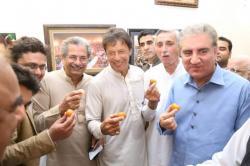 ن لیگی رہنما یونس انصاری کی عمران خان سے ملاقات، پی ٹی آئی میں شامل
