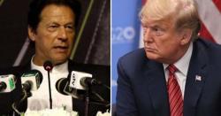 ٹرمپ عمران خان سے ملاقات کے دوران سفارتی آداب پھر بھول گئے