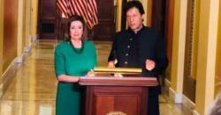 امریکی ایوان نمائندگان میں عمران خان کے اعزاز میں قرارداد منظور کر کے بطور تحفہ پیش کر دی گئی